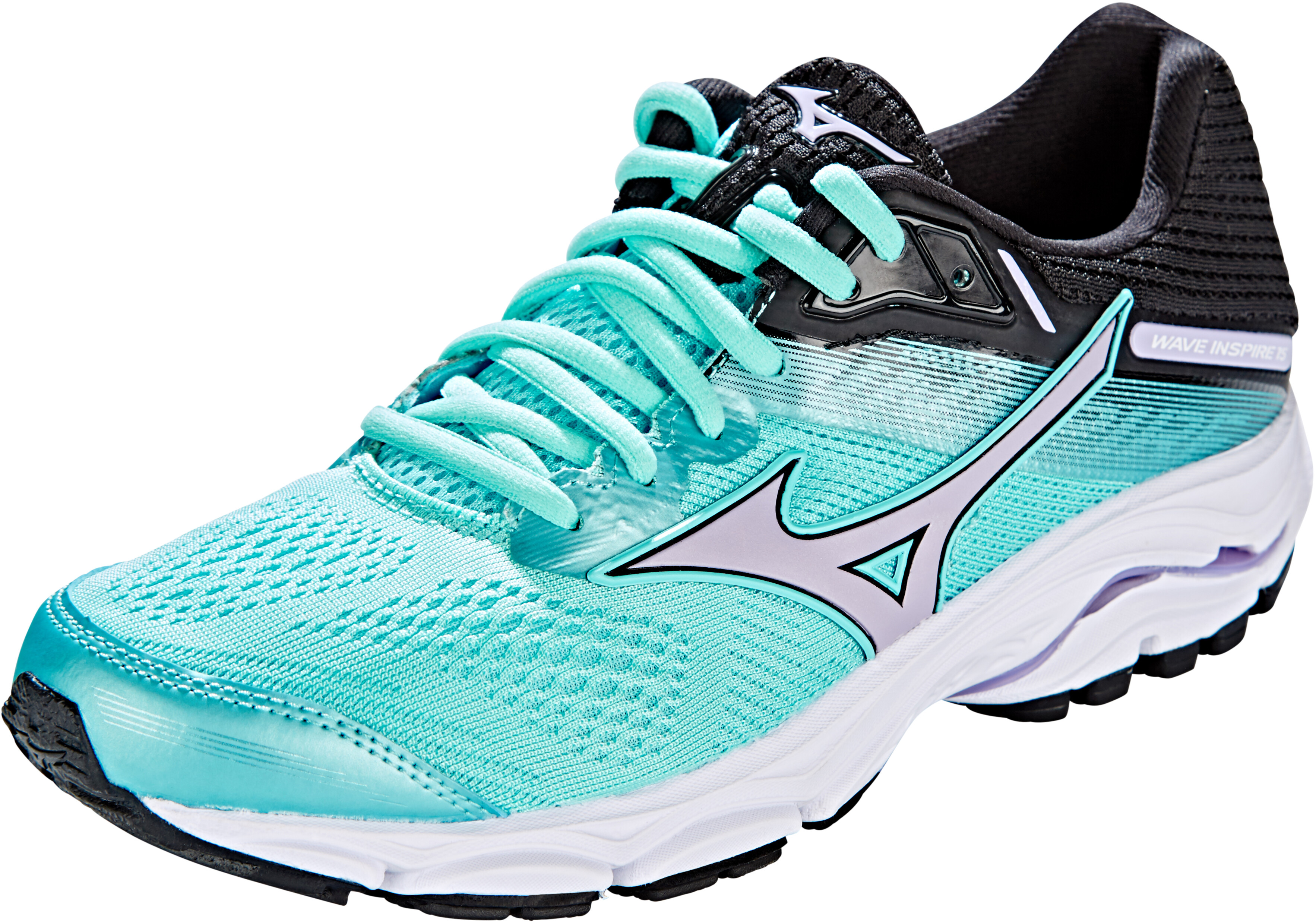 0253d0dd5f2d Mizuno Wave Inspire 15 Running Shoes Women purple/blue at Addnature ...